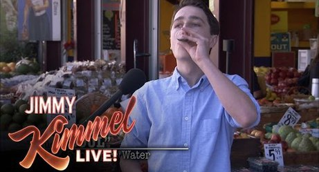 Jimmy Kimmel Tricks People Into Drinking Sugar Water