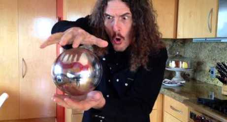'Weird Al' Performs A Mysterious Magic Trick