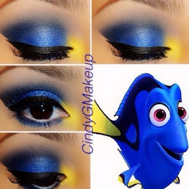 Amazing Disney Inspired Makeup - Prince of the Forest : Guff