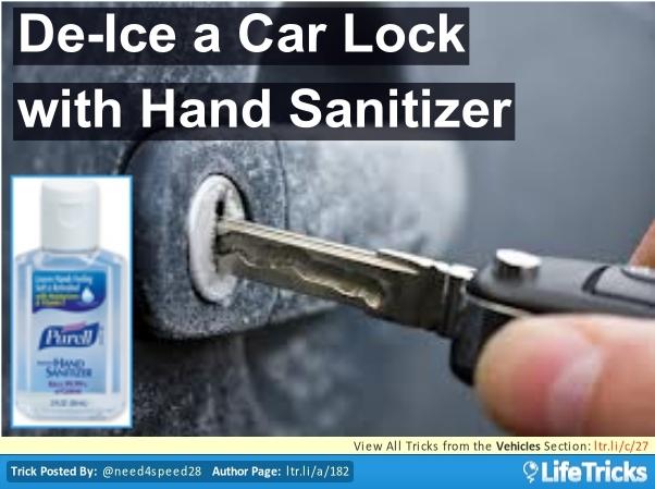 Best Way To Unlock A Frozen Car Door