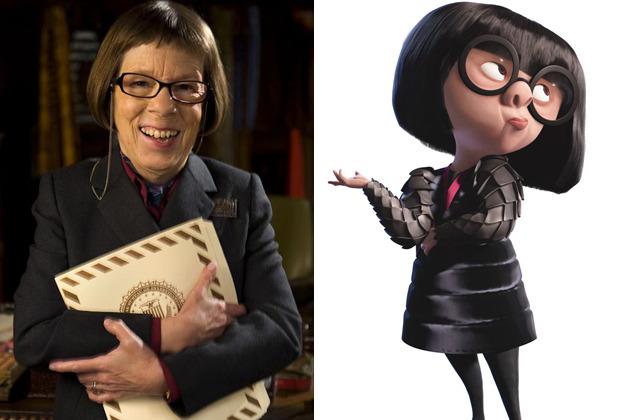 The Incredibles Fashion Designer Edna