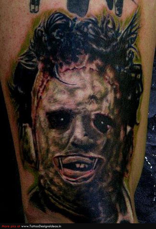 these horror movie tattoos are scary awesome freddy guff. Black Bedroom Furniture Sets. Home Design Ideas