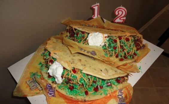 How To Make A Burrito Cake