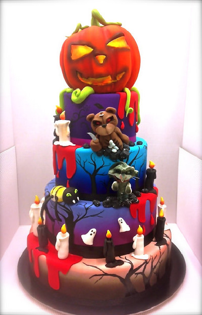 Amazing Halloween Cakes The Nightmare Before Christmas